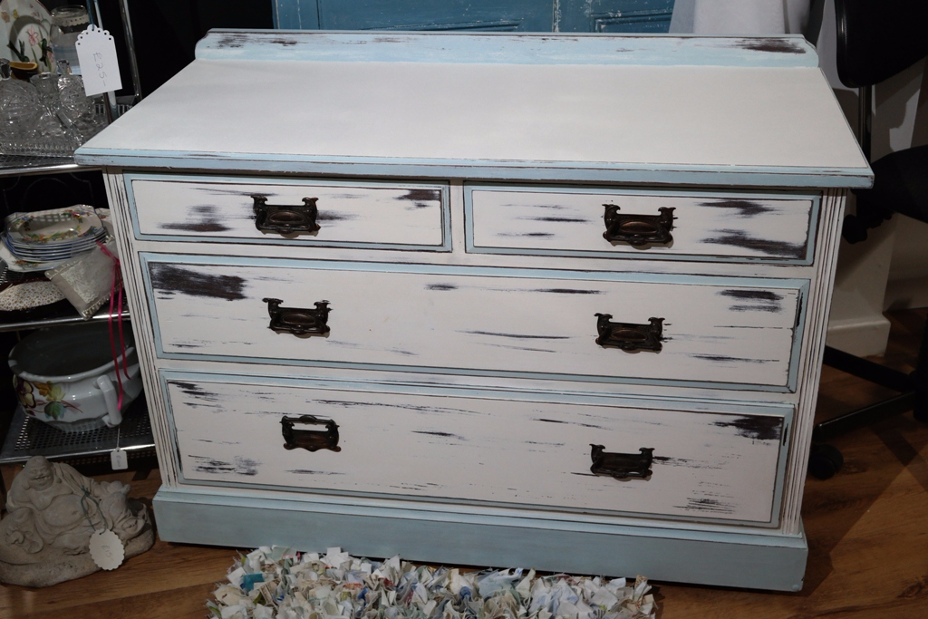 shabby chic set of drawers 1900 s anitas soft furnishings warner