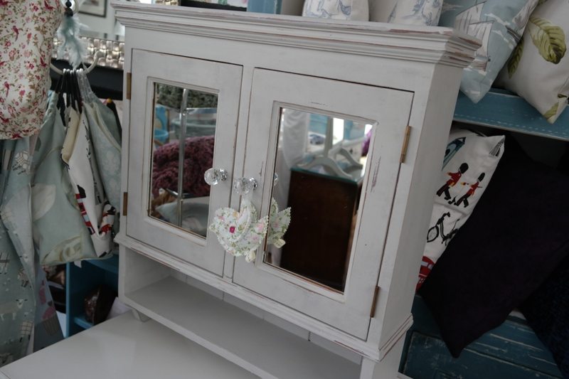 Shabby Chic Bathroom Cabinet | Anitas Soft Furnishings Warner ...